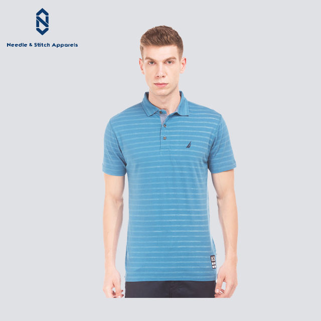Summer Clothing 65 Cotton 35 polyester Bangladesh Manufacturer Short Sleeve Dry Fit Sports Polo T Shirt