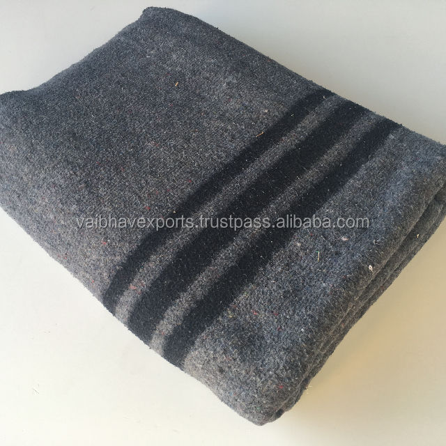 Heavy Duty Army Military Wool Blanket Factory