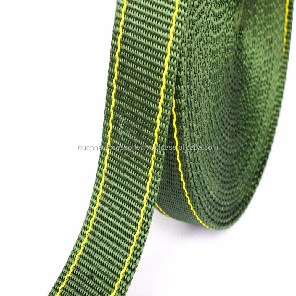 High Quality PP Webbing Strap, Webbing Tape for Bags From Vietnam Factory