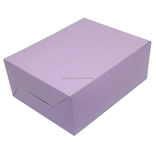 TAKE AWAY PAPER WESTERN FOOD BOX (PURPLE) TOP SALES MALAYSIA SUPPLIER