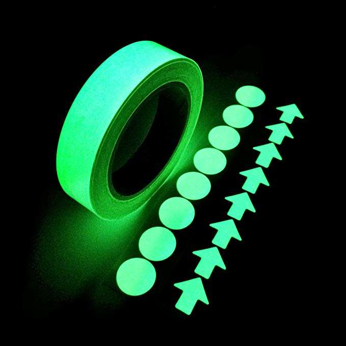 Tape Waterproof Self-adhesive Glow In The Dark Safety Stage Home Decor J/&S