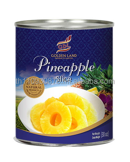 Canned Pineapple in Light Syrup (Products of Thailand)