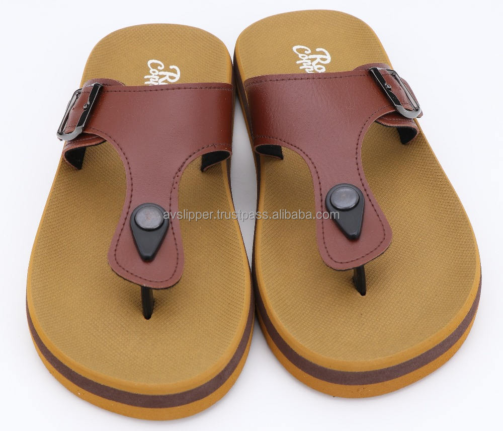 Rubber supported sole with EVA strap fashion sandal new design