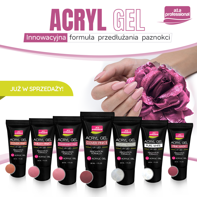ACRYL GEL INNOVATION FORMULA 2IN1 7 COLORS IN OFFER