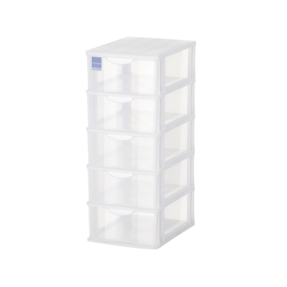 Organizing Tower Box Large Clear Plastic Storage Bins With Lids