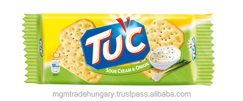 TUC Crackers Sour cream & onion 100g