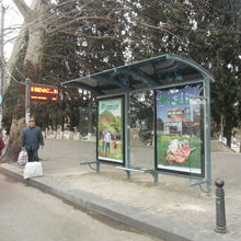 Bus Shelter / Advertisement Bus Stop with City Light Poster / MUPI/ BUS SHELTER
