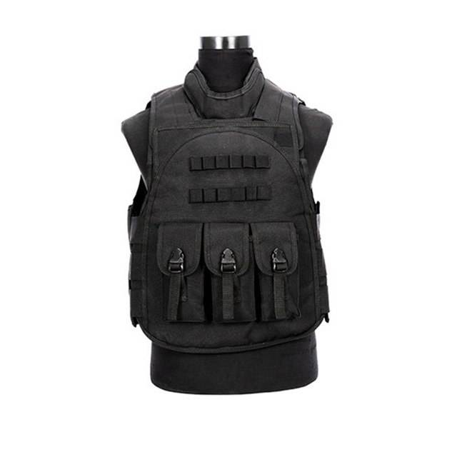 Military Combat Vest Ciras Tactical Jacket Airsoft Paintball Combat Vest