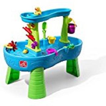 BRAND NEW ORIGINAL Step2 Rain Showers Splash Pond Water Table Playset