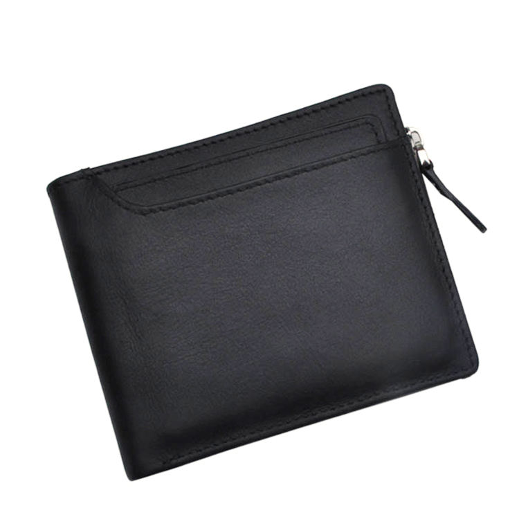 top cowhide leather brand trend wallet for men with extra card inserts