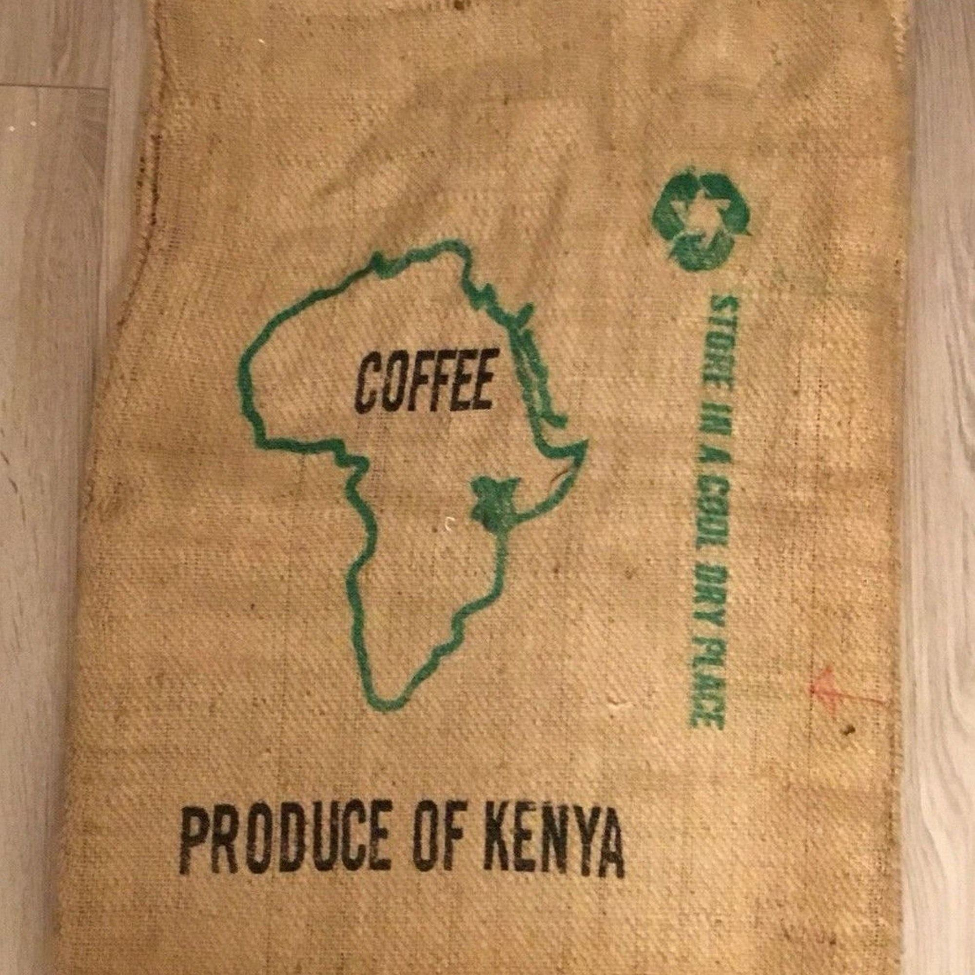 50-60 kgs Jute Sacks, Specially Designed for Kenya Coffee Board