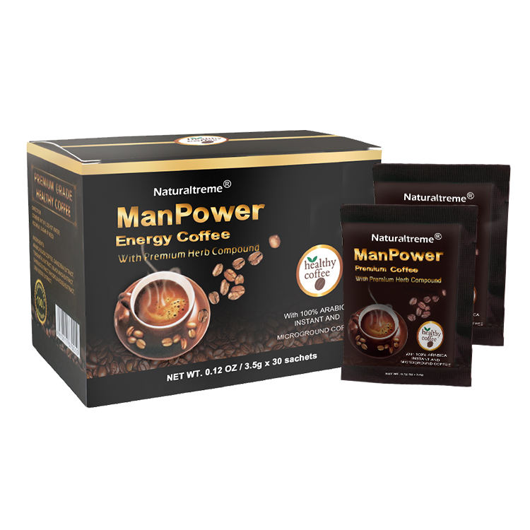 Black Maca extract Ginseng extract coffee Male enhancement coffee