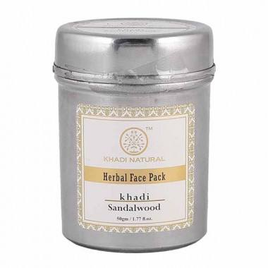 """KHADI NATURAL"" HERBAL ""sándalo"" paquete para la cara"""