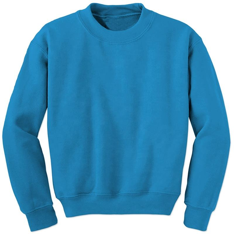 sweatshirts winter fleece customized colors sweatshirt