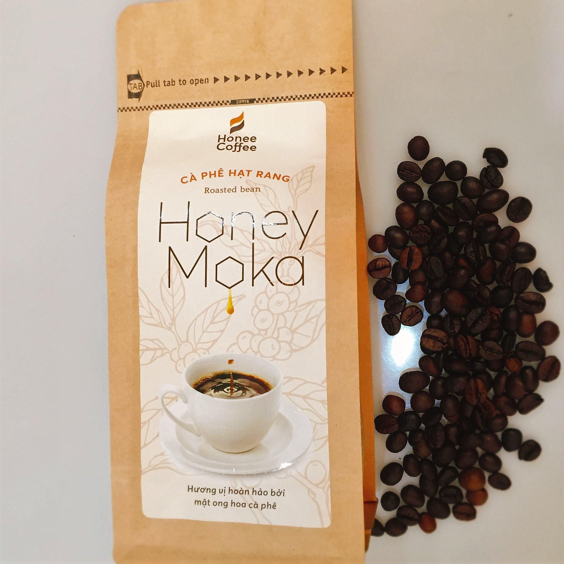Honee コーヒー-中ロースト最高品質グルメベトナムモカ (モカ) コーヒー全体豆プロセス蜂蜜