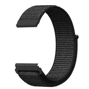 20mm 22mm Watch Strap Soft Nylon Sport Loop Replacement Band Compatible for iWatch, Compatible for Apple Watch Band 38mm 42mm