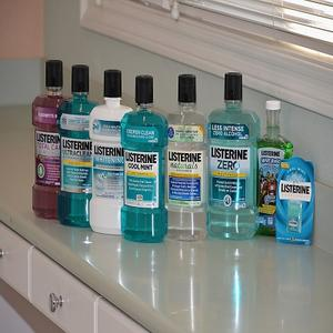 Listerine Bright & Clean Mouthwash 500ml