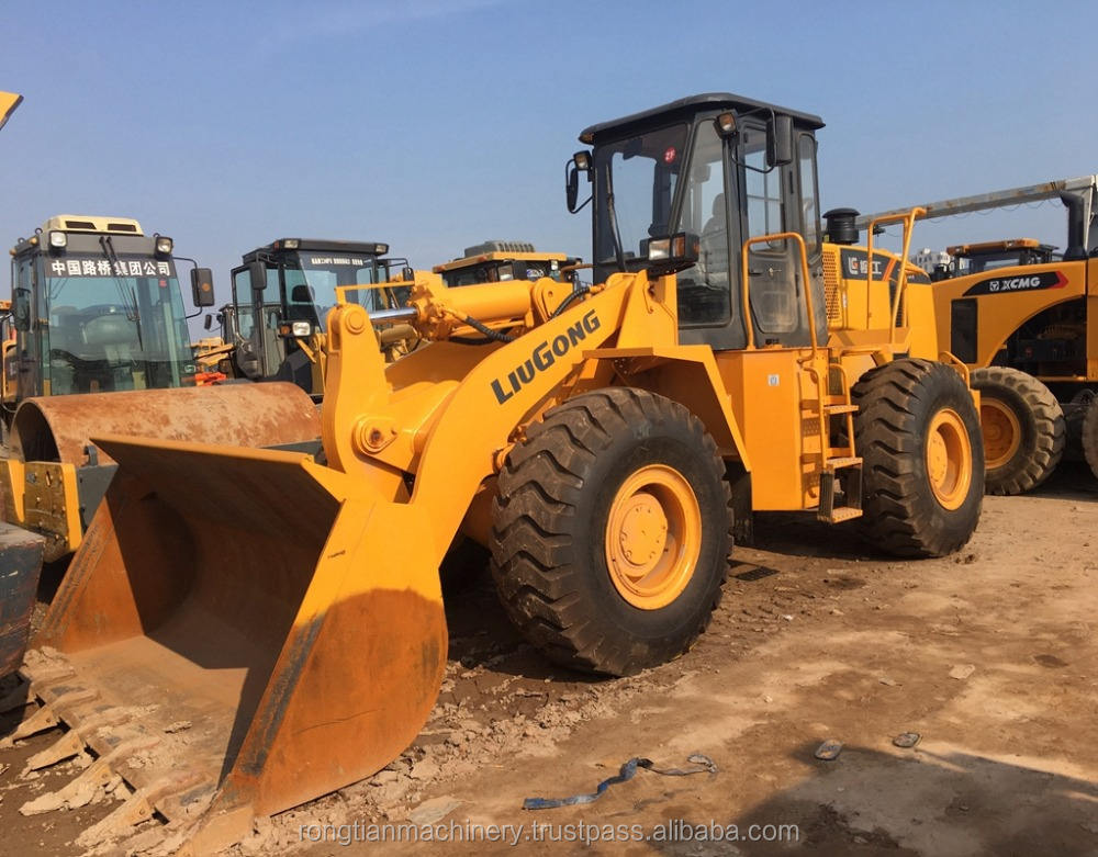 Low Price and High Quality Hydraulic Wheel Loader Liugong ZL50CN from China in stock for hot sale