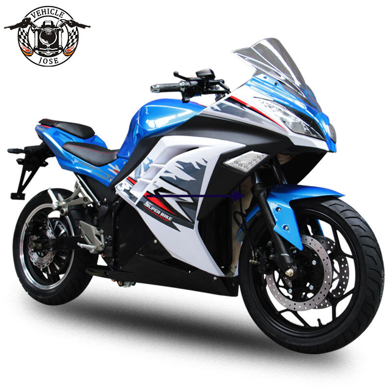 EEC COC Electric Motorcycle 72V 20A Lead-acid Lithium 2000W-5000W motor 100 km/h speed