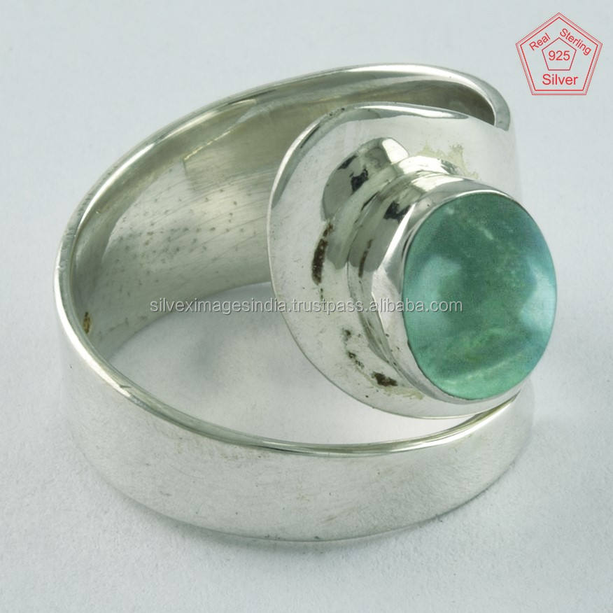 Apatite rings jewelry women 925 sterling silver