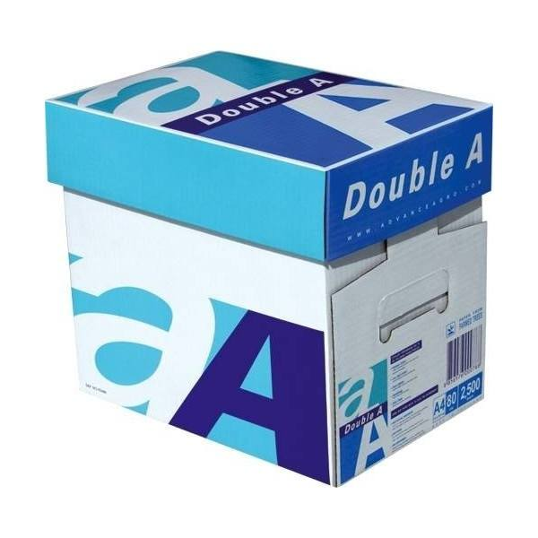 Papel de copia de propósito A4 80GSM pulpa oficina doble A blanco A4 papel de copia 80 gsm (210mm x 297mm)