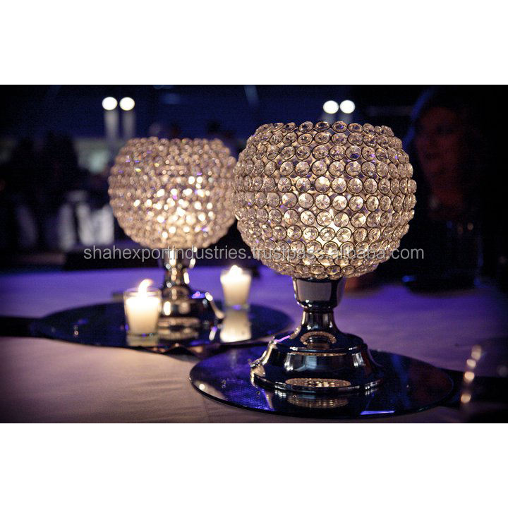 Crystal Ball globus hochzeit tisch Centerpiece Table Centerpiece