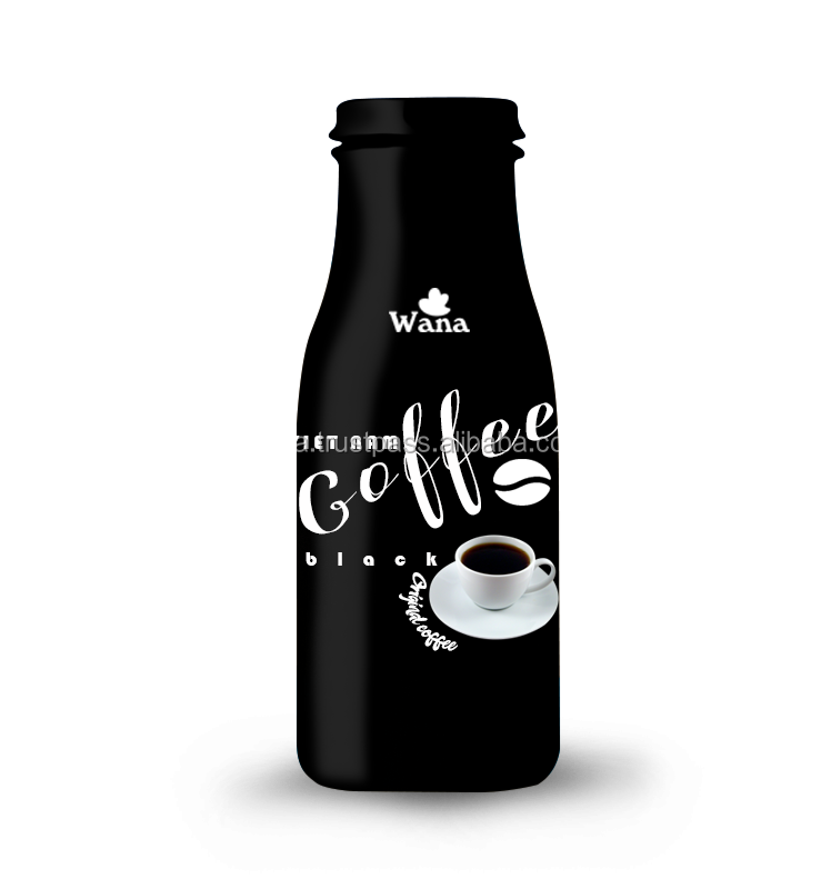 300ml Bottled Black Coffee Drink in Vietnam With Best Price