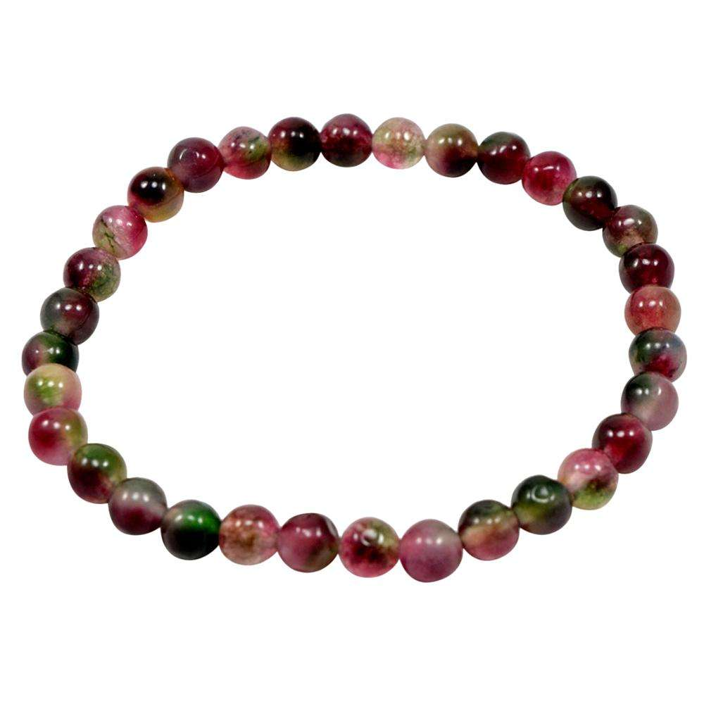 Tourmaline, Handmade Jewelry Manufacturer Protection, Stretchable Beads New Bracelet Jaipur Rajasthan India