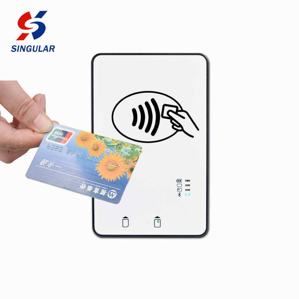 NFC Handheld RFID Contactless Android Bluetooth Card Reader