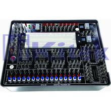 DTK-09 digital logic trainer kit / digital analog logic bread board trainer kit / digital logic trainer
