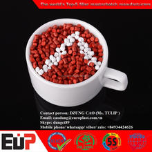 RED COLOR MASTERBATCH for blowing film, injection moulding, extrusion / MASTERBATCH