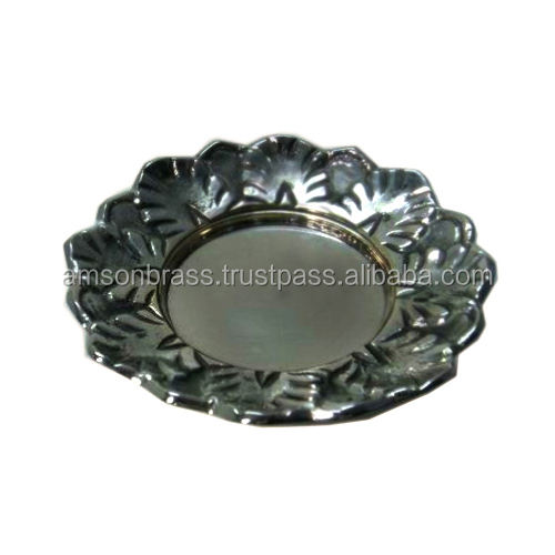 Decorative Flower Vase Charger Plate For Home Decor