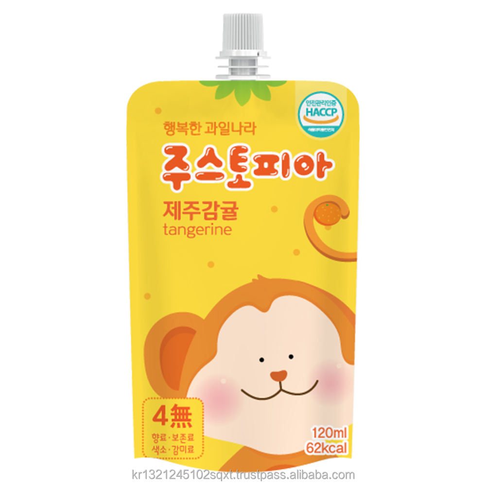 PAPA ZOO'S for kids /papa juice/JuiceTopia Jelly, MangoTango, PoblPobl, KikiPopo, OmiBlossom, Korean juice