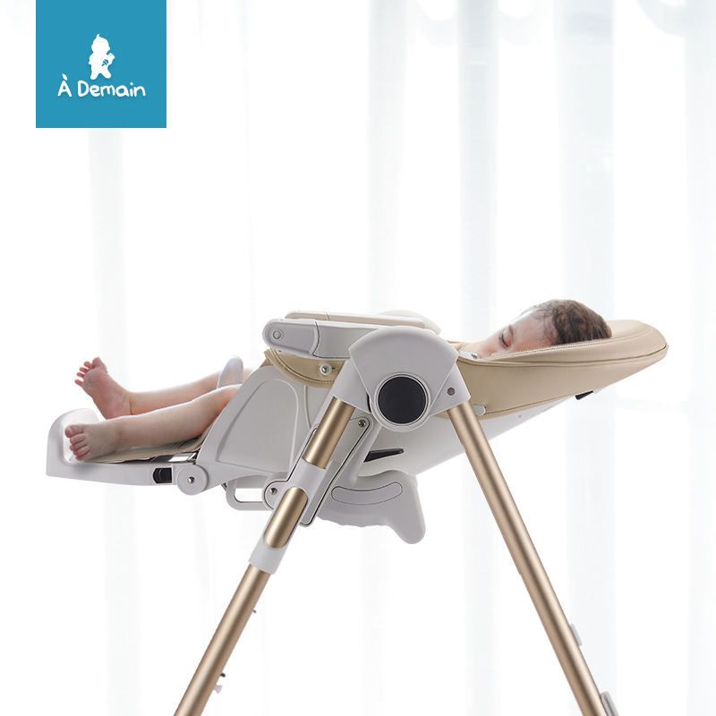 Multifunctional Adjustable Unique Baby High Chair for 0-5 Years Children