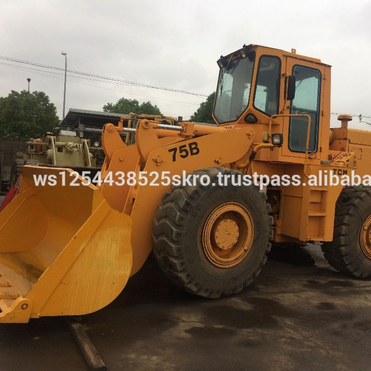 Almost New Used TCM 75B wheel loaders for sale