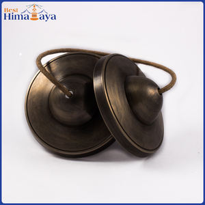 Tingsha Glocke Spezielle Bronze Antike ~ Made in Nepal