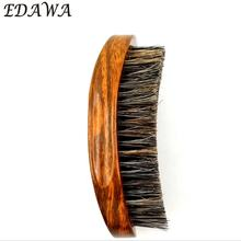 Luxurious Grain new boar bristle curved wave brush 360  beard brush