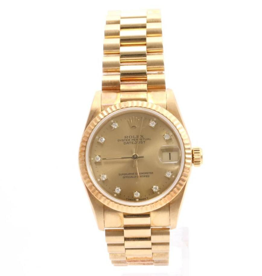 Used Mint Condition high Brand Used ROLEX Datejust S Ladies Watches for bulk sale. Many brands available.