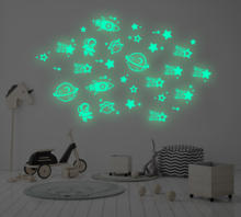 Latest Popular Waterproof Home Decoration PP Space Stickers Wall Decal Stickers