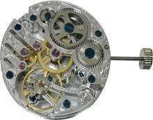 hand winding unitas clone skeleton watch movement