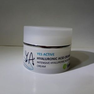 Yes Active Intensive Hyaluronic Acid Face face cream /beauty face cream / double molecolar weight acid hyaluronic cream