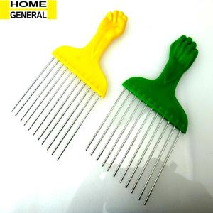 METAL TEETH AFRO HAIR COMB