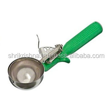 Ski Group Of Stainless Steel Ice Scoop Thumb Scoop With Stylish Handle