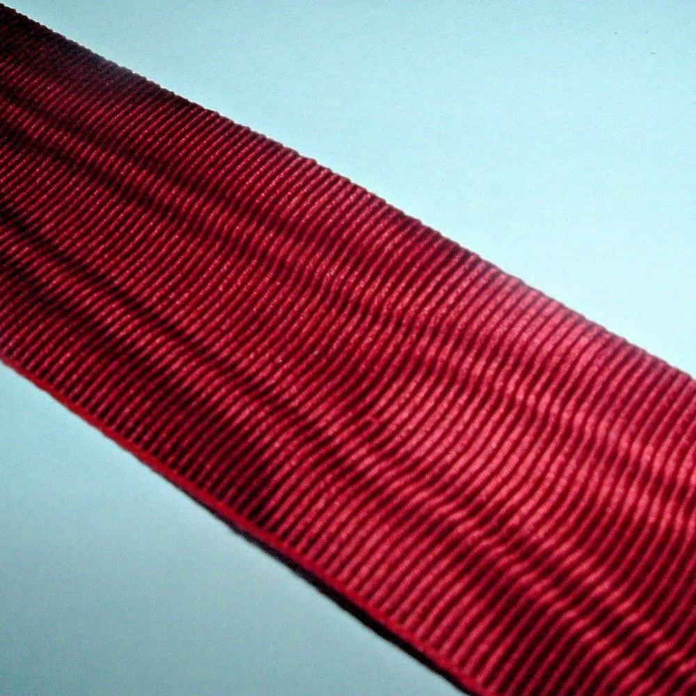 Moire Effect viscose thread Ribbon