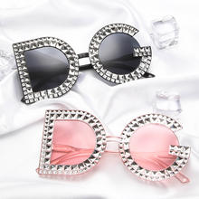 2019 luxury fashion womens oversized letter shades sunglasses sun glasses