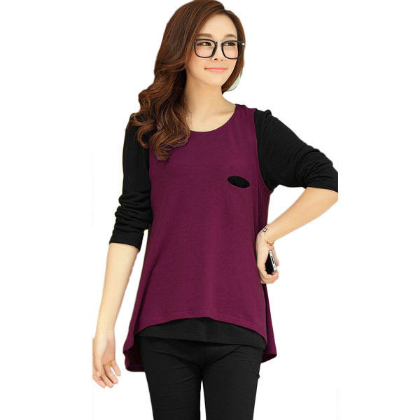 Maternity T Shirts - Wholesale Maternity Clothes Short Sleeves Blank Maternity T Shirts