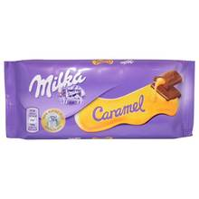 Milka Milk Chocolate with Caramel