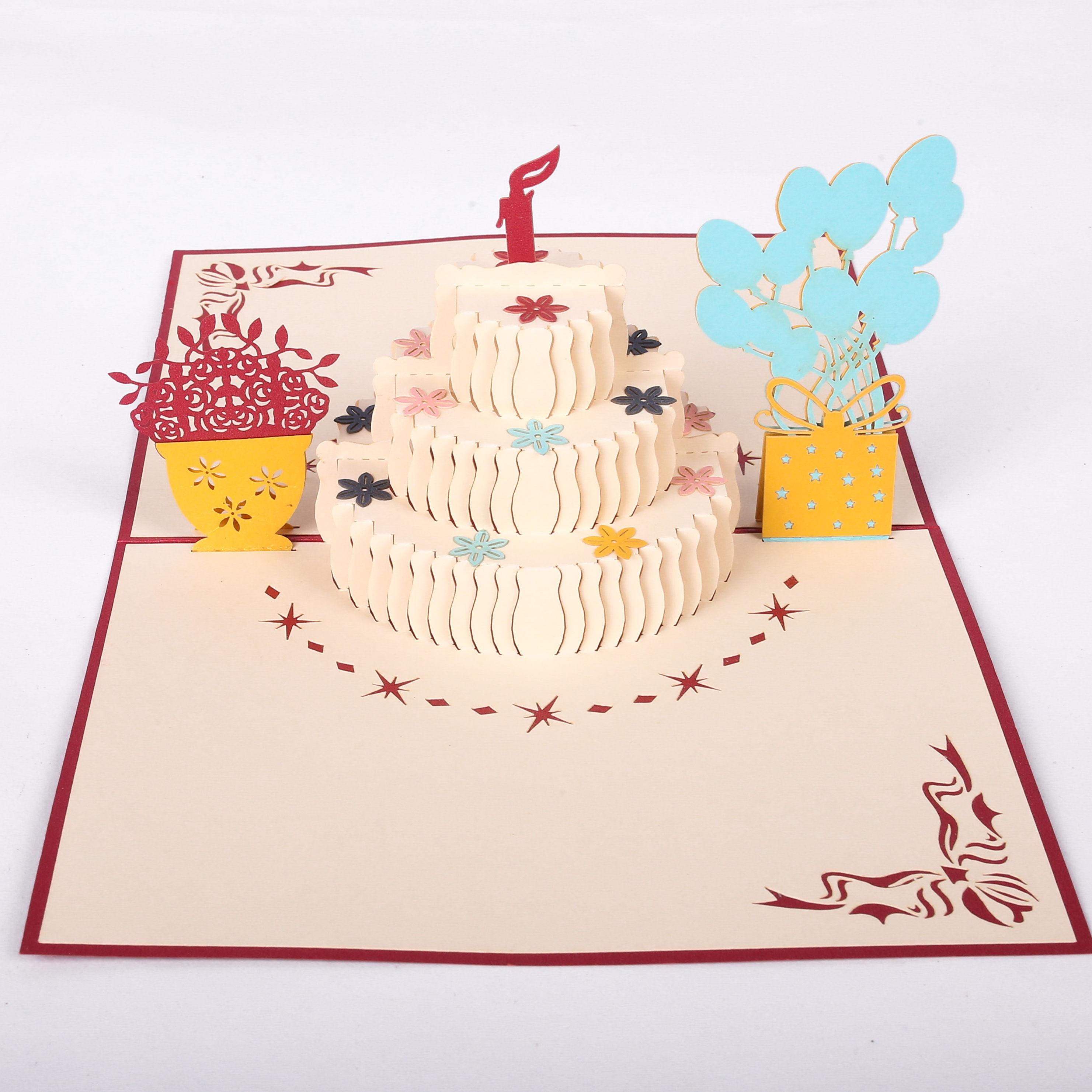идеи объемной открытки на день рождения схемы ему