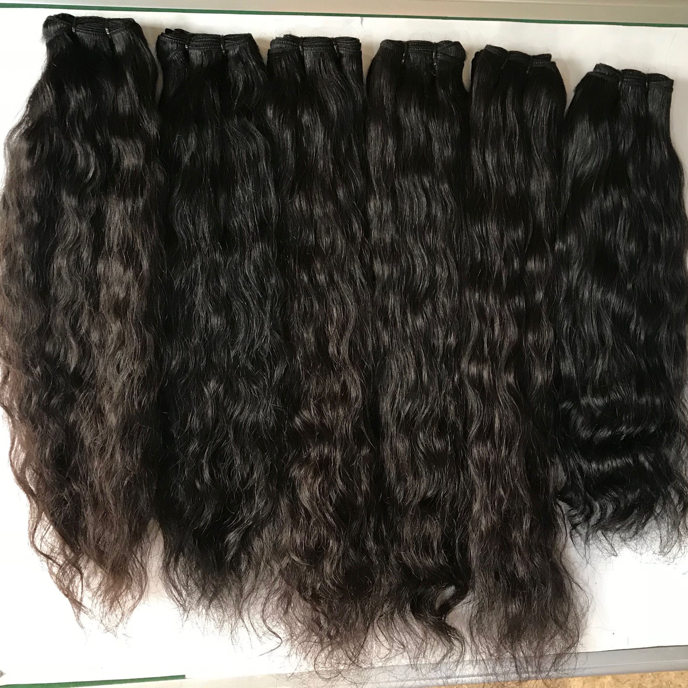 Raw Indian Hair Directly From India 레미 Virgin Straight 100 인간의 Hair 짜 Unprocessed 표피 정렬되지 Hair