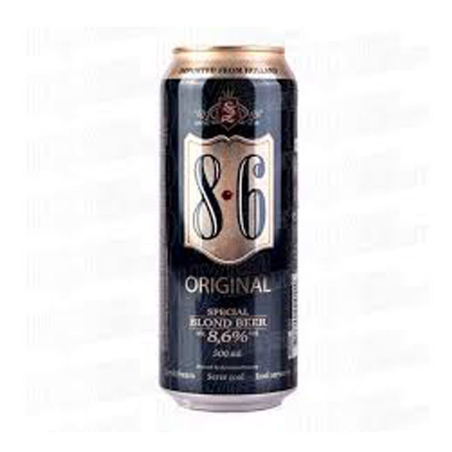 8.6% Alcohol Bavaria Beer Can